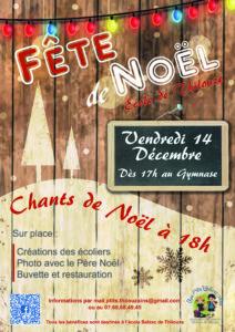 Fête de Noël de l'école Honoré de Balzac @ École Honoré de Balzac