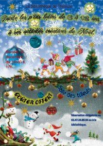 Animation de Noël de l'association Lire à Thilouze @ la Bibliothèque